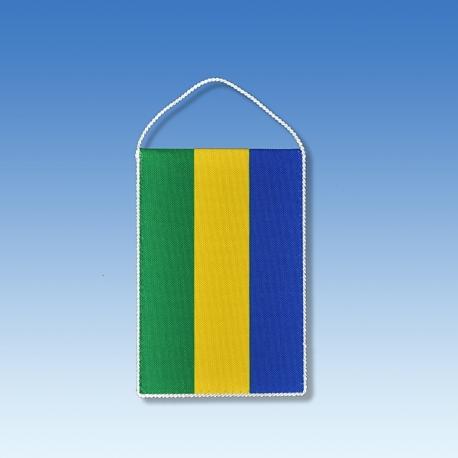 Gabon stolová zástavka