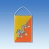 Bhután stolová zástavka