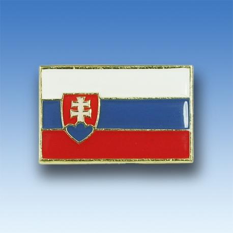 Odznak SR vlajka - zlatý lem
