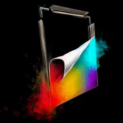Aluframe 100x200 cm LED