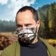 Rúško na tvár - maskáč