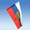 Rusko so znakom vlajka 150x100 cm