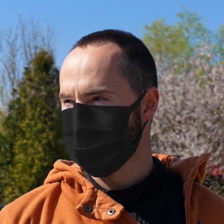 Rúško na tvár-čierne