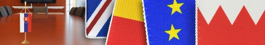 Stolové zástavky a stojančeky